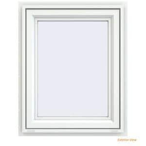 23.5 in. x 29.5 in. V-4500 Series White Vinyl Awning Window with Fiberglass Mesh Screen