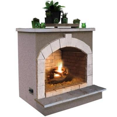48 in. Propane Gas Outdoor Fireplace