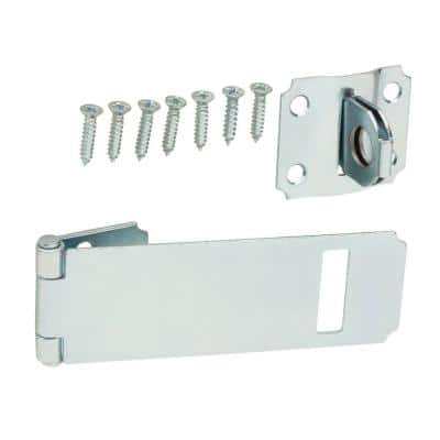 3-1/2 in. Zinc-Plated Adjustable Staple Safety Hasp
