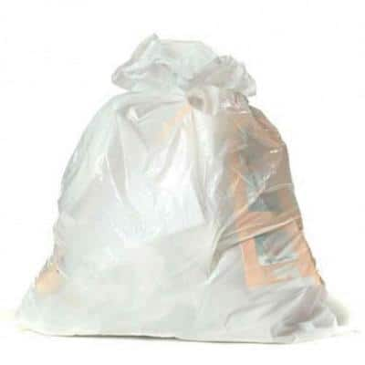 32-33 Gal. White Trash Bags (Case of 150)