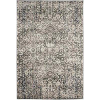 Irish Lace Grey 8 ft. x 11 ft. Indoor Area Rug