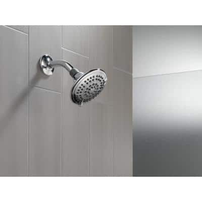 5-Spray 5 in. Showerhead with Pause in Chrome