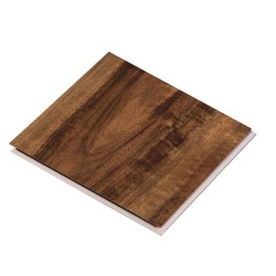 Take Home Sample - Vinyl Pro Classic Walnut Creek Vinyl Plank - 7-1/8 in. W x 6 in. L