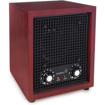 Ozone Generator Air Purifier / Cherry Wood