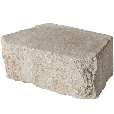 4 in. x 11.75 in. x 6.75 in. Fieldstone Concrete Retaining Wall Block (144 Pcs. / 46.5 Face ft. / Pallet)