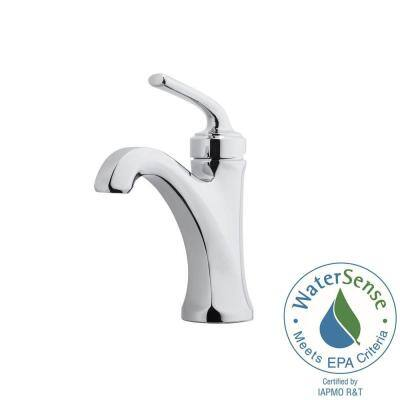 Arterra 4 in. Centerset Single-Handle Bathroom Faucet in Polished Chrome