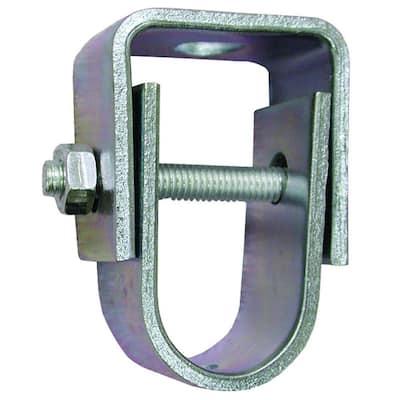 3 in. Zinc Plated Steel Clevis Hanger for 1/2 in. Rod, Standard