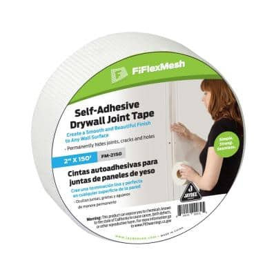 FiFlex 2 in. x 150 ft. Self-Adhesive Fiberglass Mesh Drywall Joint Tape