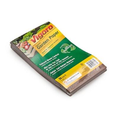 36 sq. ft. Folded Organic Paper