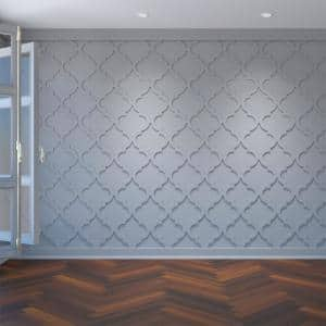 3/8 in. x 15-3/8 in. x 15-3/8 in. Marrakesh Decorative Fretwork Wall Panels in Architectural Grade PVC