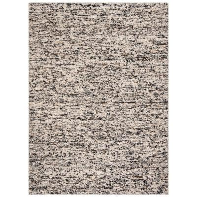 Natura Beige/Gray 3 ft. x 5 ft. Solid Area Rug