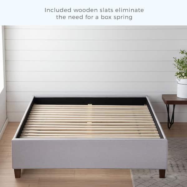 Brookside Ava Stone California King, Does A Platform Bed Need Slats