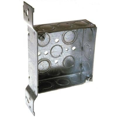 4 in. Welded Bracket Square Electrical Box