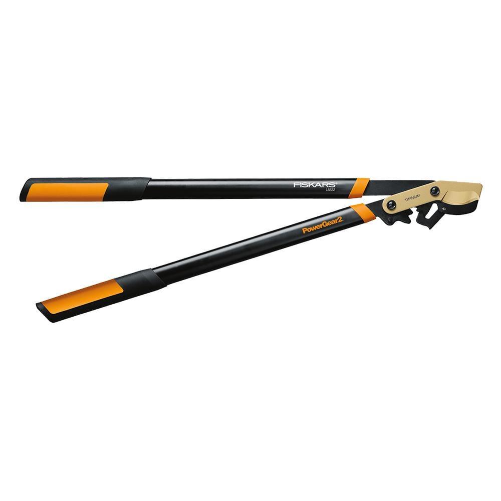 Fiskars 2 in. Cut Capacity Titanium Coated Blade,32 in.Length, PowerGear2 Bypass Lopper