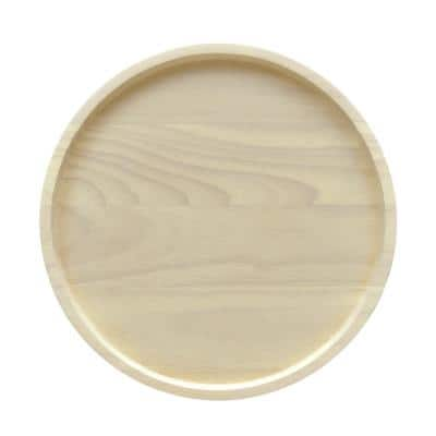 Hammock Wood Round Charger 13 in.