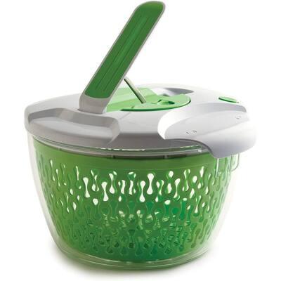 6.8 qt. Deluxe Removable Colander Strainer Herb Vegetable Salad Spinner