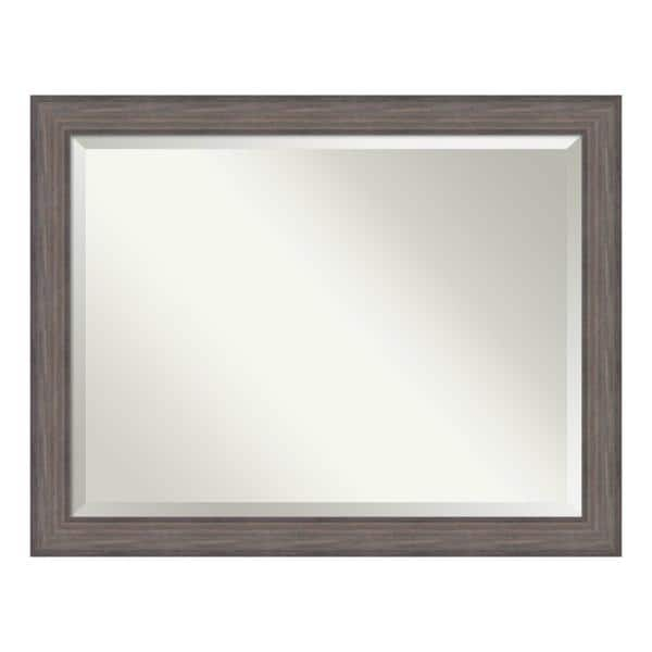 Amanti Art Country 46 In W X 36 H, 36 X 42 Framed Beveled Mirror