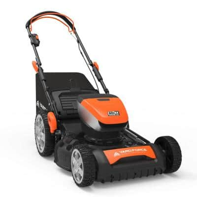 20 in. 60-Volt Cordless Brushless Lithium-ion 4.0Ah RWD Self-Propelled Lawn Mower, includes Battery and Charger