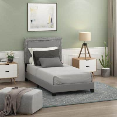 Laval Glacier Twin Double Row Nail Bed Frame