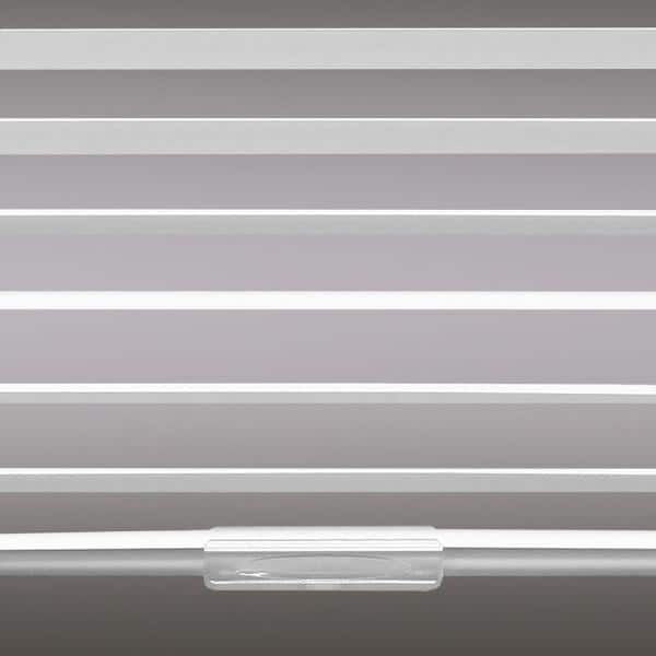 Hampton Bay White Cordless Blackout 1 In Vinyl Mini Blind For Window Or Door 28 In W X 48 In L 1079347839055 The Home Depot