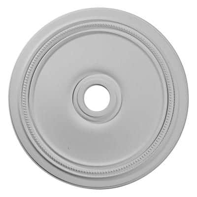 """24"""" x 3-5/8"""" ID x 1-1/4"""" Diane Urethane Ceiling (Fits Canopies upto 6-1/4""""), Primed White"""