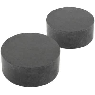 1/2 in. x 3/16 in. Ceramic Disc Magnet (40-Pack)