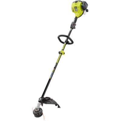 25cc 2-Cycle Attachment Capable Full Crank Straight Gas Shaft String Trimmer