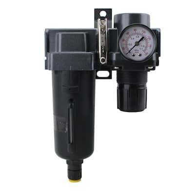 1/2 in. NPT Metal FRL Air Filter Regulator