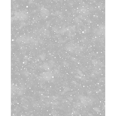 Constellation Navy/Pale Gold Wallpaper Sample