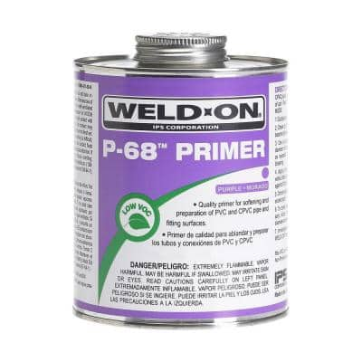 32 oz. PVC P68 NSF/UPC Primer in Purple