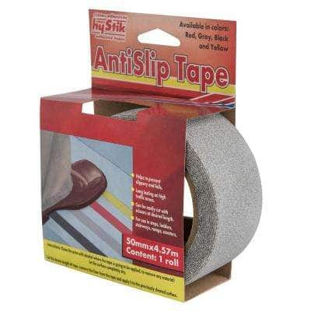 770 2 in. x 5 yds. Gray Anti-Slip Tape (1-Roll)