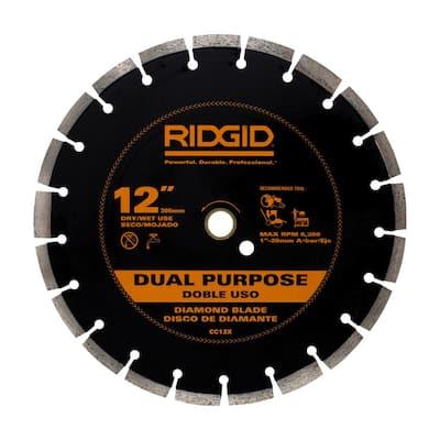 12 in. Dual-Purpose Diamond Blade