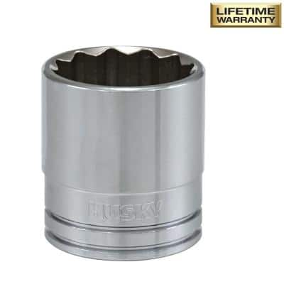 1/2 in. Drive 1-1/16 in. 12-Point SAE Standard Socket