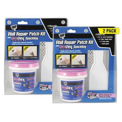DryDex 8 oz. Wall Repair Patch Kit (2-Pack)