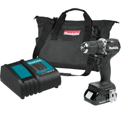 18-Volt LXT Lithium-Ion Sub-Compact Brushless Cordless 1/2 in. Driver Drill Kit, 1.5Ah