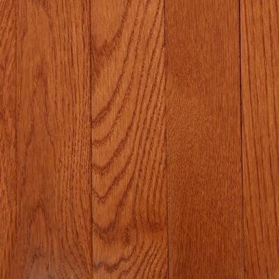 American Originals Copper Dark Red Oak 3/4 in. T x 2-1/4 in. W x Varying L Solid Hardwood Flooring (20 sq. ft. /case)