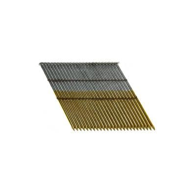 3-1/4 in. x 0.131 Wire Weld Collated HD Galvanized Smooth Shank Framing Nails (500 per Box)