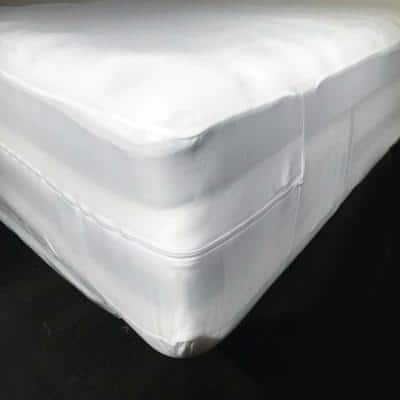 Bed Bug, Non-Woven, and Water Resistant Full Mattress Or Box Spring Cover