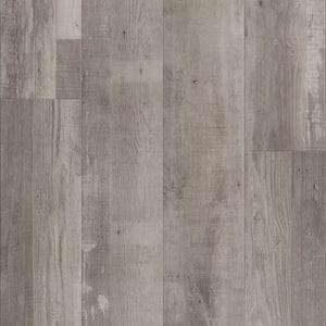 Vinyl Pro With Mute Step Gray Ash 7.25 in. W x 48 in. L Waterproof Luxury Vinyl Plank Flooring (24.03 sq. ft)