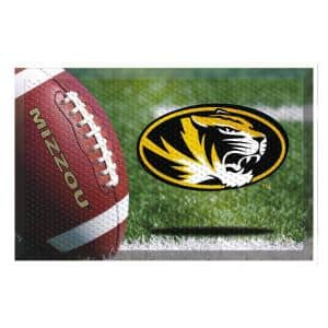 University of Missouri Football Heavy Duty Rubber Outdoor Scraprer Door Mat