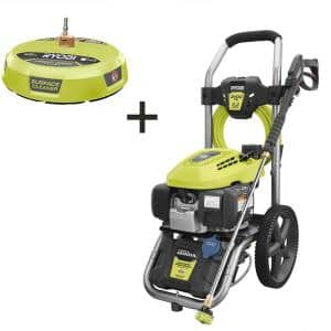 3100 PSI 2.3 GPM Honda Gas Pressure Washer and 15 in. Surface Cleaner