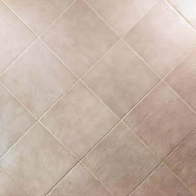Appaloosa Gray 14 in. x 14 in. 10mm Polished Porcelain Floor and Wall (8-piece 10.76 sq. ft. / box)