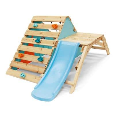 My First Wooden Playset with Slide