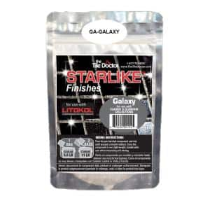 Starlike Finishes Epoxy Grout Additive - Galaxy Glitter Collection 75 g (1-Pack)