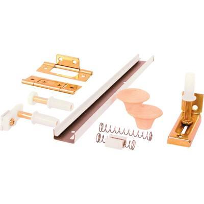 72 in. 4 Door Hardware Pack Bi-Fold Closet Track Kit