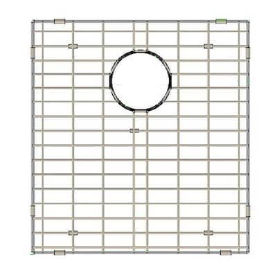 17.5 in. x 16.5 in. Bottom Sink Grid in Stainless Steel