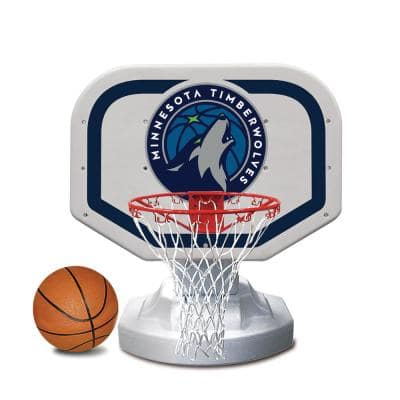 Minnesota Timberwolves NBA Competition Swimming Pool Basketball Game