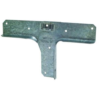 RTT 18-Gauge Galvanized Rigid Tie Connector for 2x Nominal Post, 1x Nominal Joist