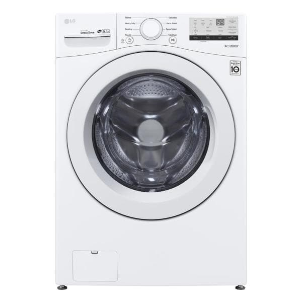 4.5 cu. ft. Ultra Large Capacity White Front Load Washing Machine with Coldwash Technology