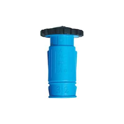 ANKA 1-1/4 in. Fiberglass Reinforced Nylon Large Hose Twist Nozzle
